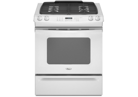 Whirlpool - GW399LXUQ - Slide-In Gas Ranges