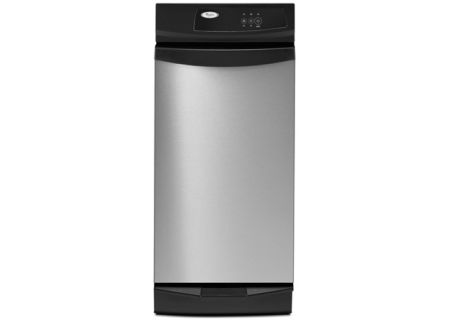 """Whirlpool 15"""" Stainless Steel Trash Compactor - GX900QPPS"""