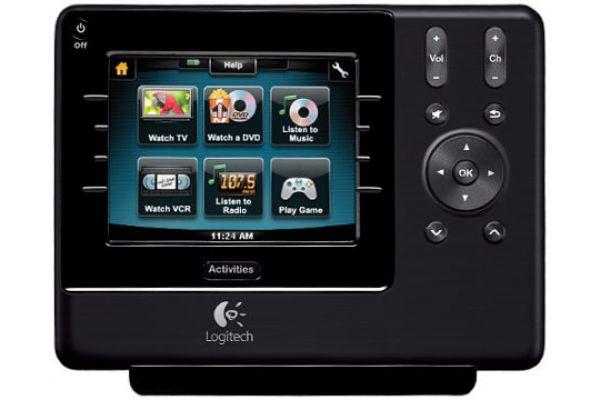 Logitech Harmony 1100 Black Touchscreen Universal Remote Control - Harmony 1100