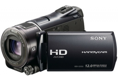 Sony - HDR-CX550V - Camcorders