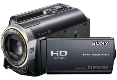 Sony - HDR-XR350V - Camcorders