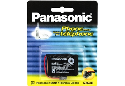 Panasonic - HHR-P301PA - Cordless Phone Rechargeable Batteries