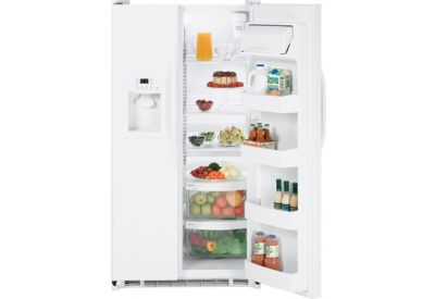 GE - HSS22GFTWW - Side-by-Side Refrigerators
