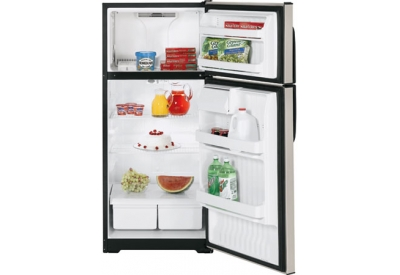 GE - HTM17BBSSA - Top Freezer Refrigerators