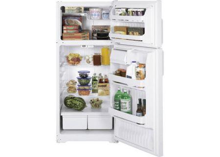 GE - HTS17CBTWW - Top Freezer Refrigerators