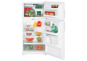 GE - HTS17GBSWW - Top Freezer Refrigerators
