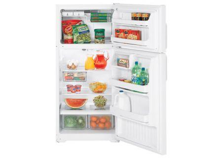 GE - HTS17GBSWW - Top Freezer Refrigerators