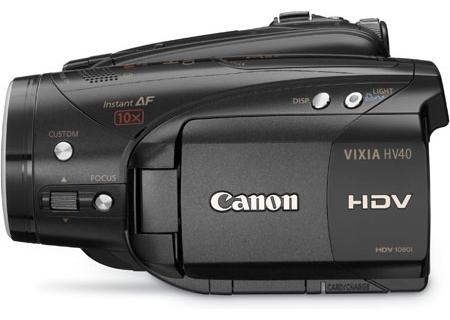 Canon - VIXIA HV40 - Camcorders & Action Cameras