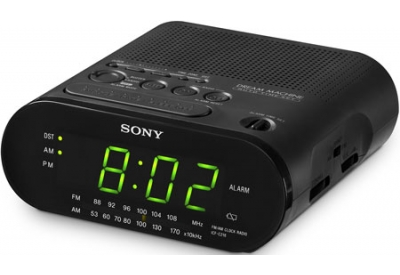 Sony - ICF-C218BLACK - Clock Radios
