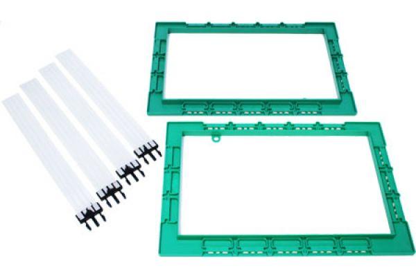 "Large image of Klipsch 8"" In-Wall Pair Speaker Installation Kit (Pair) - 1001178"