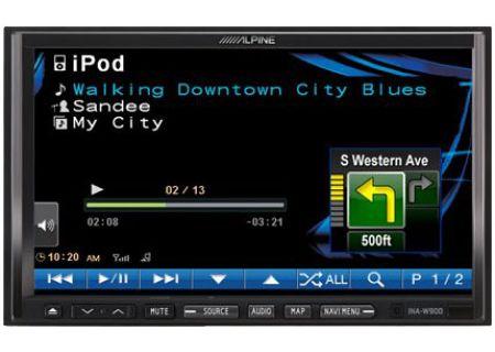 Alpine - INA-W900 - Portable GPS Navigation