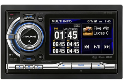 Alpine - IXA-W404 - Car Stereos - Double Din