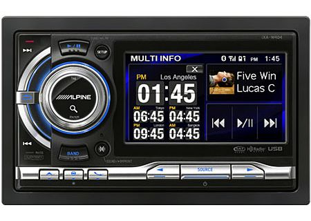 Alpine - IXA-W404 - Car Stereos - Double DIN
