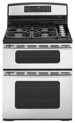 """Jenn-Air 30"""" Double Oven Free-Standing Dual-Fuel Range in ..."""