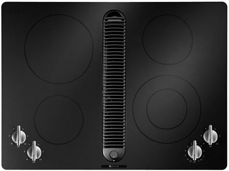 Jenn Air 30 Quot Electric Cooktop In Black Jed8430bdb Abt