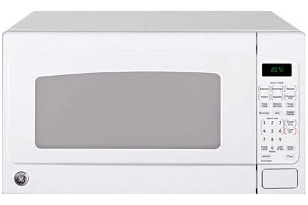 Large image of GE White Countertop Microwave Oven - JES2051DNWW