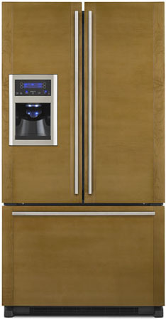 Jenn Air Custom Panel French Door Bottom Freezer