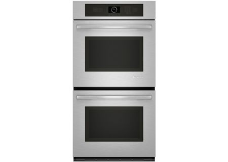 "Jenn-Air 27"" Stainless Steel Double Electric Wall Oven - JJW2527WS"