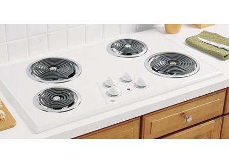 GE - JP626WKWW - Electric Cooktops