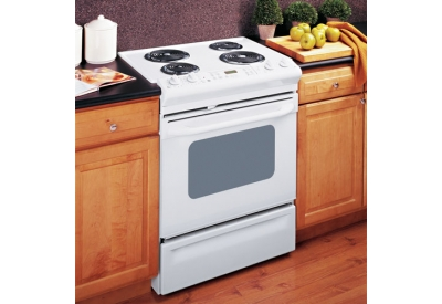 GE - JSP39WKWW - Slide-In Electric Ranges