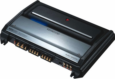 Kenwood - KAC-8403 - Car Audio Amplifiers