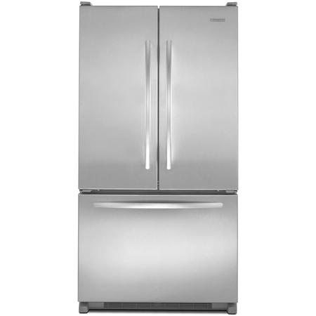 Kitchenaid architect series ii french door bottom freezer refrigerator kbfs25evms abt for Interior water dispenser refrigerator
