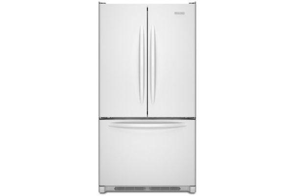 KitchenAid Architect Series II White French Door Bottom-Freezer Refrigerator