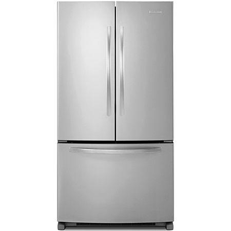 Kitchenaid Stainless French Door Refrigerator Kbfs25ewms