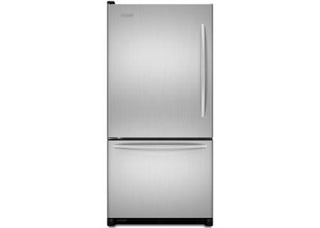 KitchenAid - KBLS22KVSS - Bottom Freezer Refrigerators