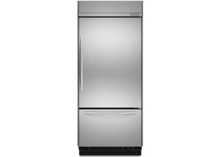 KitchenAid - KBRC36FTS - Built-In Bottom Freezer Refrigerators