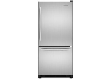 KitchenAid - KBRS19KTMS - Bottom Freezer Refrigerators