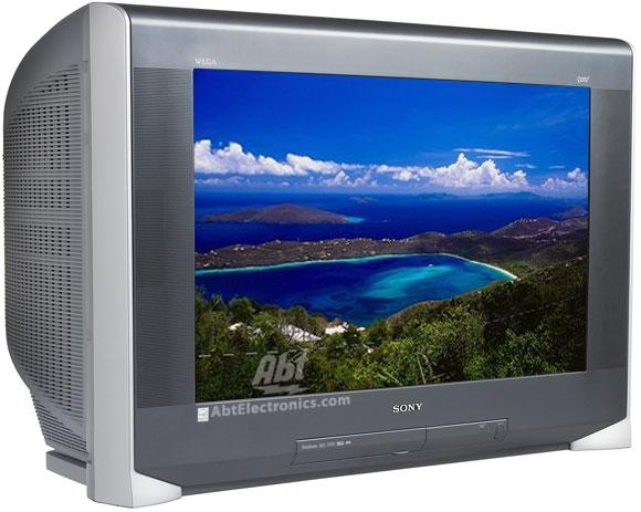 Sony 34 FD Trinitron WEGA XBR HDTV Grey Finish KD