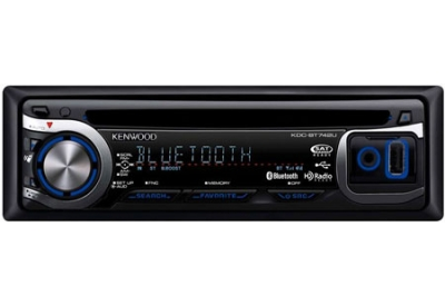 Kenwood - KDC-BT742U - Car Stereos - Single Din