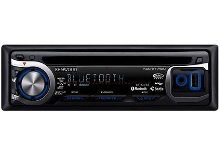 Kenwood - KDC-BT742U - Car Stereos - Single DIN