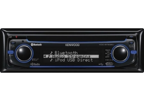 Kenwood - KDC-BT838U - Car Stereos - Single Din