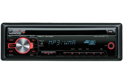 Kenwood - KDC-MP142 - Car Stereos - Single Din