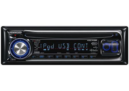 Kenwood - KDC-X492 - Car Stereos - Single DIN
