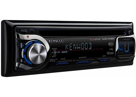 Kenwood - KDC-X493 - Car Stereos - Single DIN