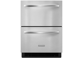 KitchenAid - KDDC24RVS - Mini Refrigerators