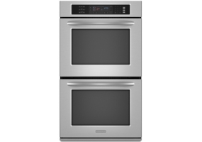 KitchenAid - KEBS207SSS - Built-In Double Electric Ovens
