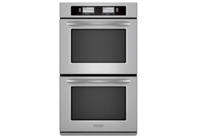 KitchenAid - KEBU208SSS - Built-In Double Electric Ovens