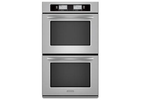 KitchenAid - KEBU208SSS - Double Wall Ovens