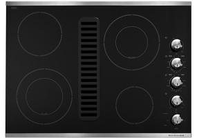 KitchenAid - KECD807XSS - Electric Cooktops