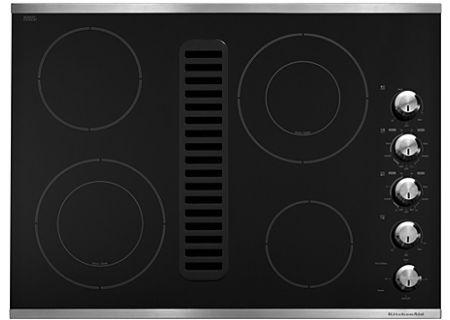 KitchenAid - KECD807XSS - Electric Cooktops
