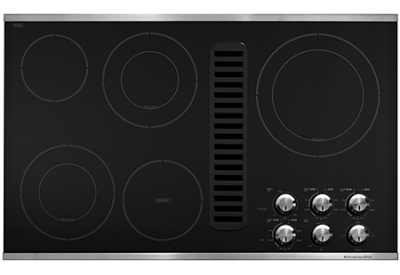 KitchenAid - KECD867XSS - Electric Cooktops