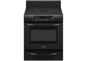 KitchenAid - KERS807SBL - Free Standing Electric Ranges