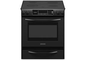 KitchenAid - KESK901SBL - Slide-In Electric Ranges