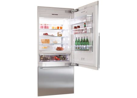 Bertazzoni - KF1901SF - Built-In Bottom Freezer Refrigerators