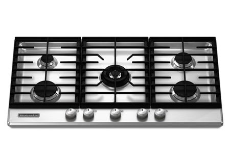KitchenAid - KFGS366VSS - Gas Cooktops