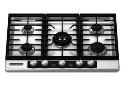 KitchenAid - KFGU706VSS - Gas Cooktops